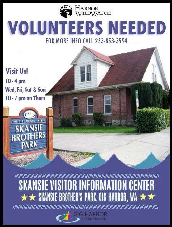 Skansie VIC Volunteers Needed